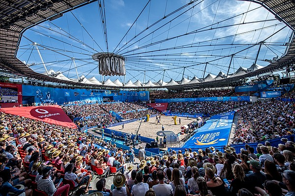 CTS EVENTIM is official ticketing partner of the FIVB Beach